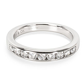 Tiffany & Co. Channel Set Diamond Wedding Band in Platinum (0.24 CTW)
