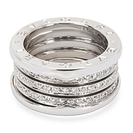 Bulgari B.zero1 Diamond Eternity Ring in 18K White Gold (1 CTW)