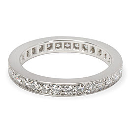 Cartier Diamond Wedding Band in Platinum (0.58 CTW)