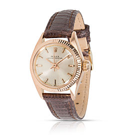 Rolex Oyster Perpetual 6619 Women's Watch in 18kt Rose Gold
