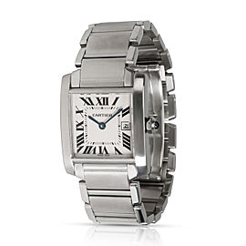 Cartier Tank Francaise W51011Q3 Unisex Watch in Stainless Steel