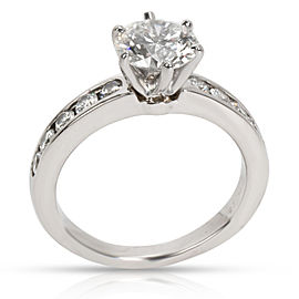 Tiffany & Co. Diamond Engagement Ring in Platinum (1.51 CTW I VS2)