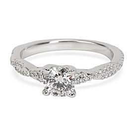 Brilliant Earth Vine Diamond Engagement Ring in 18K Gold GIA (G VVS2) 0.96 CTW