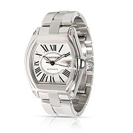 Cartier Roadster W62000V3 Men's Watch in Stainless Steel