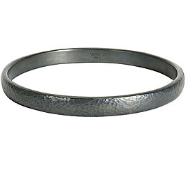 BRAND NEW Gurhan 'Midnight' Bangle Bracelet in Sterling Silver MSRP 855