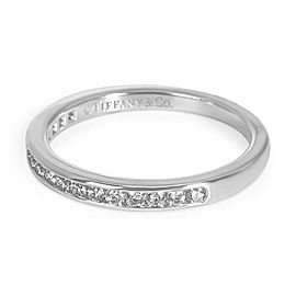Tiffany & Co. Diamond Wedding Band in Platinum (0.17 CTW)