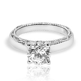 Verragio Surprise Diamond Engagement Ring Setting in 18K White Gold