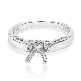 Verragio Insignia Diamond Engagement Ring Setting in 18K White Gold
