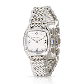 David Yurman Thoroughbred T304-XS Women's Watch in Sterling Silver/Stainless St