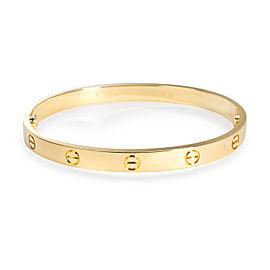 Cartier Love Bracelet in 18K Yellow Gold Cartier Size 19