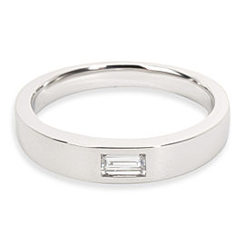 Harry Winston Baguette Diamond Band in Platinum 0.21 CTW