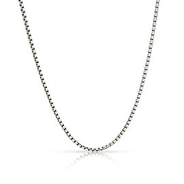 David Yurman Baby Box Chain in Sterling Silver