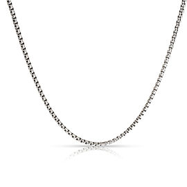 David Yurman Baby 1.7 mm Box Chain in Sterling Silver