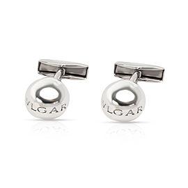 Bulgari Ball Cufflinks in Sterling Silver