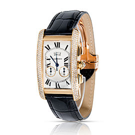 Cartier Tank Americaine WB705851 Men's Watch in 18K Yellow Gold