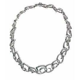 Stefan Hafner 18k white gold diamond necklace R $29800