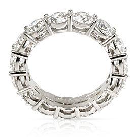 Tiffany & Co. Certified Diamond Eternity Band in Platinum 5.41 CTW