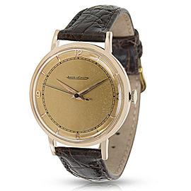 Jaeger-LeCoultre Vintage Men's Watch in 18k Rose Gold