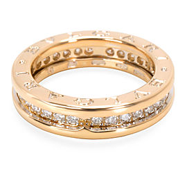 Bulgari B.zero1 Diamond Ring in 18K Yellow Gold (0.64 CTW)