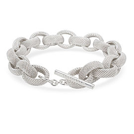 Tiffany & Co. Somerset Link Bracelet in Sterling Silver
