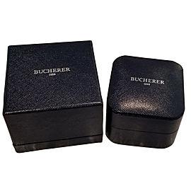 Bucherer Moonstone & Diamond Necklace in 18KT Rose Gold 0.05 CTW