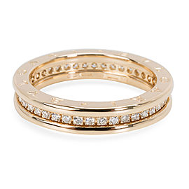 Bulgari B. Zero 1 Diamond Ring in 18KT Yellow Gold 0.6 CTW