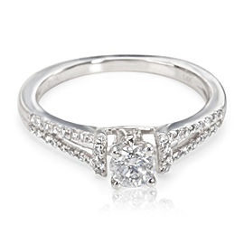 Diamond Engagement Ring in 14K White Gold (0.85 CTW)