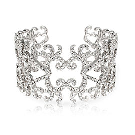 Orianne Collins Tales Me Cuff in 18K White Gold 16.64 CTW