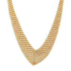 Tiffany & Co. Mesh Necklace in 18KT Yellow Gold