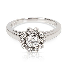 Tiffany & Co. Diamond Daisy Ring in Platinum (0.35 CTW)