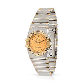 Omega Constellation 795.1080 Women's Watch in 18kt Yellow Gold/Steel