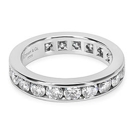 Tiffany & Co. Channel Set Diamond Band in Platinum 2.20 CTW