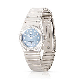 Omega Constellation 1165.77.00 Women's Watch in 18kt White Gold