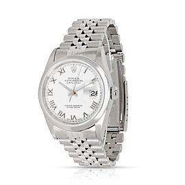 Rolex Datejust 16234 Men's Watch in 18kt Stainless Steel/White Gold