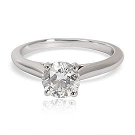 Cartier Solitaire Diamond Engagement Ring in Platinum E VS2 0.70 CTW