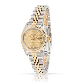 Rolex Datejust 69173 Women's Watch in 18K Yellow Gold & Stainless Steel