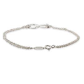 Tiffany & Co. Infinity Bracelet in Sterling Silver