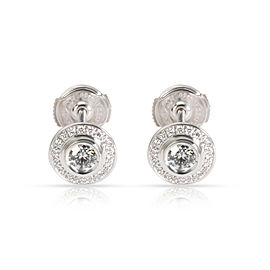 Cartier D'Amour Diamond Stud Earring in 18K White Gold 0.56 CTW