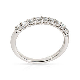Tiffany & Co. 9 Stone Diamond Wedding Band in Platinum 0.27 CTW