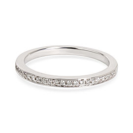 Sylvie Diamond Band in 14K White Gold 0.15 CTW