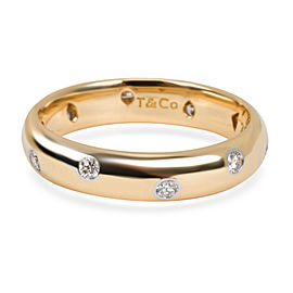 Tiffany & Co. Etoile Diamond Ring in 18K Yellow Gold 0.33 CTW