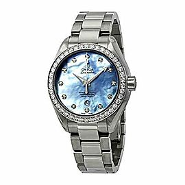 Omega Seamaster Aqua Terra Automatic Chronometer Diamond Ladies Watch 231.15.34.