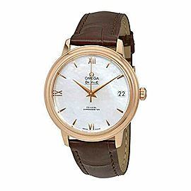 Omega De Ville Automatic Mother of Pearl Dial Ladies Watch 424.53.33.20.05.001