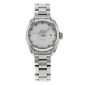 Omega Aqua Terra Quartz Ladies Watch 231.10.30.60.55.001