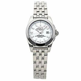 Breitling Galactic Quartz (Battery) Mother-of-Pearl Dial Womens Watch W7234812/A