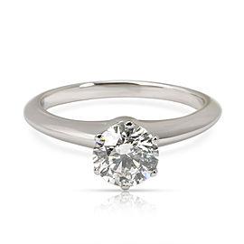 Tiffany & Co. Diamond Engagement Ring in Platinum H VS2 1.01 CTW