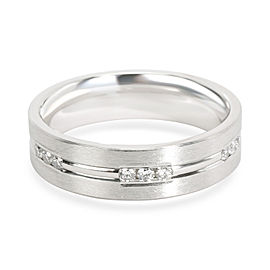 Men's Diamond Band in Platinum 0.36 CTW