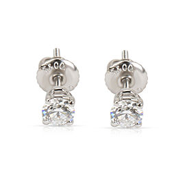 Tiffany & Co. Diamond Stud Earring in Platinum 0.56 CTW