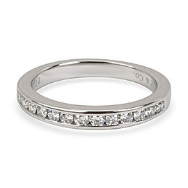 Tiffany & Co. Channel Set Diamond Wedding Band in Platinum 0.24 CTW