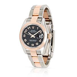 Rolex Datejust 179161 Women's Watch in 18kt Stainless Steel/Rose Gold